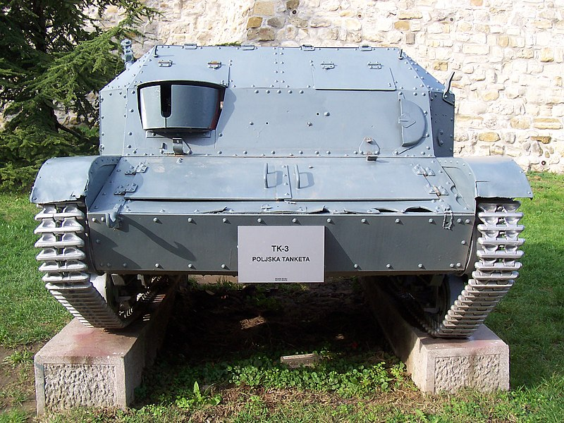 The only surviving TKF in the Belgard Military Museum.