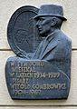 Tablica Witold Gombrowicz ul. Chocimska 35 w Warszawie.JPG
