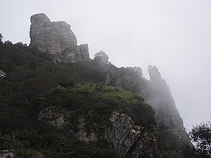 Jing Hao - Taihang Mountains, where Jing spent the majority of his career in seclusion as a farmer.