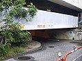 Takanawakyo Bv exit side on Shinkansen plate girder.jpg
