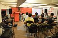Tanmay Bir - Outreach Programme Discussion - Bengali Wikipedia Meetup - Kolkata 2015-10-11 6015.JPG