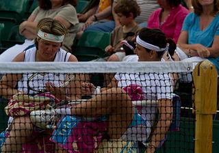 Nathalie Tauziat French tennis player