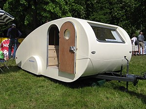 Teardrop trailer - The trailer is so named for its resemblance to a teardrop.