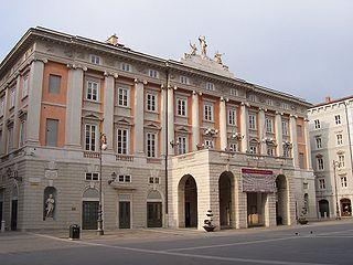 Teatro Lirico Giuseppe Verdi operahouse in Trieste, Italy