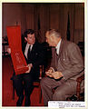 Ted Kennedy and LBJ 1964.jpg