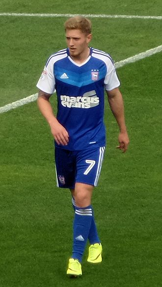 Teddy Bishop - Bishop playing for Ipswich Town in 2016