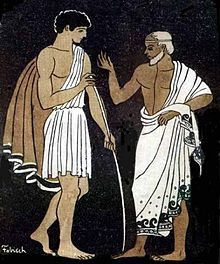 the odessy and telemachus meek by Telemachus is initially described as being a child in his mother's house, not yet having become a man he is in despair about the state of affairs in his house, and does not yet think he can do .