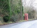 Telephone box, Godmanstone - geograph.org.uk - 1156941.jpg
