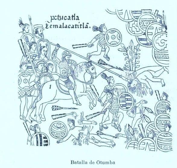 Temalacatitlan - batalla de Otumba