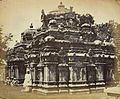 Temple at Begur (c.1868),by Henry Dixon, from the Archaeological Survey of India Collections.jpg