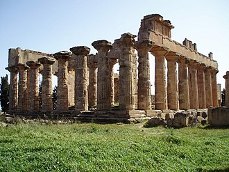 Tourism in Libya - The temple of Zeus in Cyrene, Eastern Libya