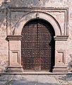 Templo y Ex Convento de San Francisco de la Asunción de Nuestra Señora, Tlaxcala, Tlax. México. (detalle Puerta).jpg