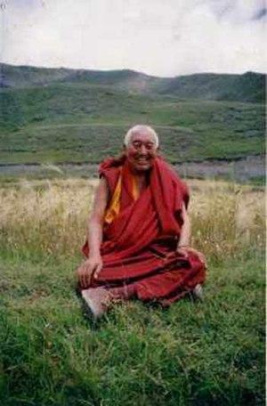 Bon - Lopön Tenzin Namdak, abbot of a Bon monastery in Nepal