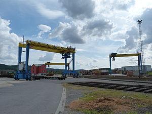 Aubange - Container's Terminal in Athus