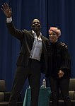 Terry and Rebecca King Crews at Osan Air Base in South Korea - 2019 (5418061) (cropped).jpg