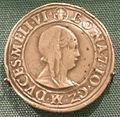 Testone d'argento pesante con bona di savoia, reggente di milano (1476-80).JPG
