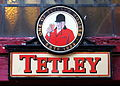 Tetley enamel beer advertising sign.JPG