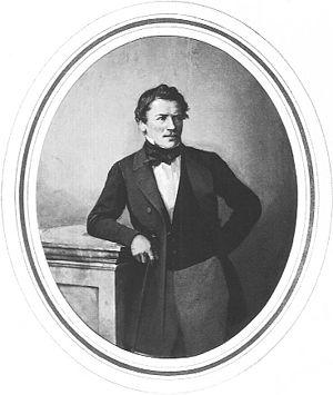 Josef Anton Gegenbauer - Joseph Anton von Gegenbaur (Photograph by Theodor Widmayer)