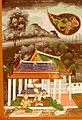 Thai - Vessantara Jataka, Chapter 10 - Indra, in the Form of a Brahmin, Requests Maddi from Vessantara - Walters 2010122.jpg