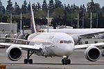 Thai Airways International, Boeing 787-8 Dreamliner, HS-TQE - PAE (19001122496).jpg
