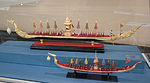 Thailand, royal boats, models in the Vatican Museums.jpg