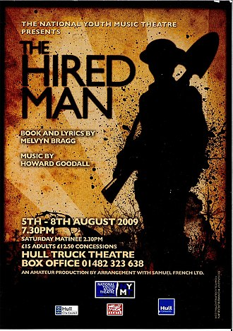 National Youth Music Theatre - Image: The Hired Man