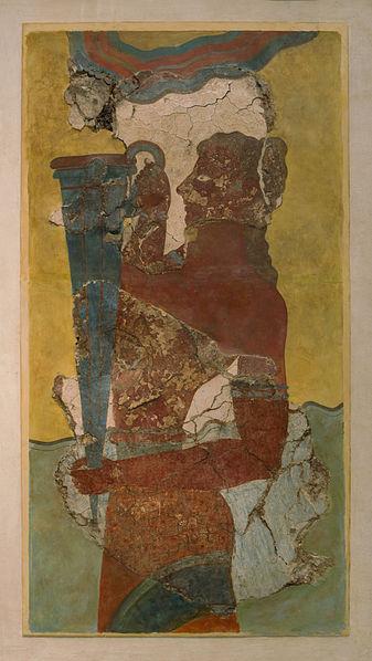 FileThe cup bearer fresco Knossos Heraklion museum Crete Greecejpg