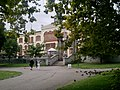 The Belgrade University Rectorate from the Students' Park.JPG
