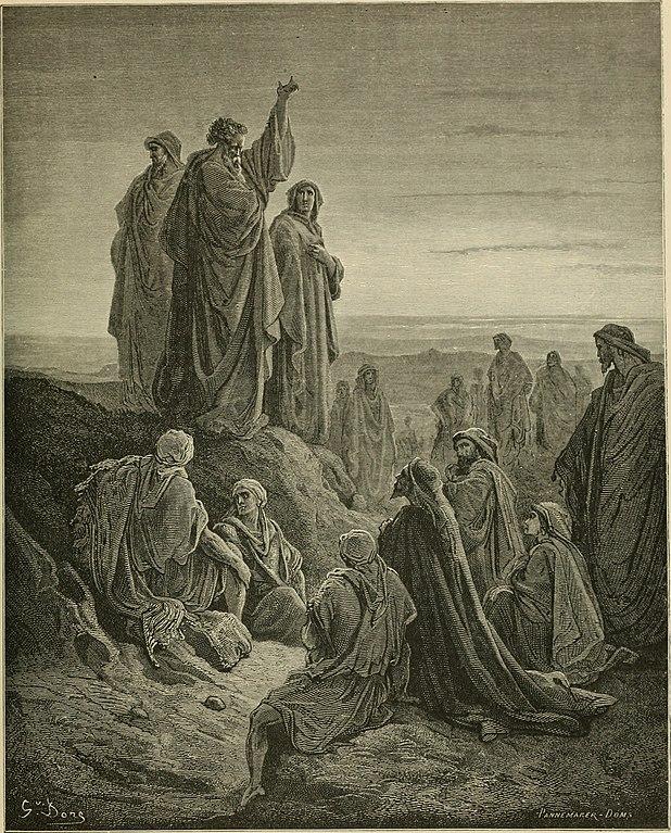 복음 전하는 사도들 (귀스타브 도레, Gustave Dore, 1866년)