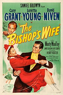 <i>The Bishops Wife</i> 1947 film directed by Henry Koster