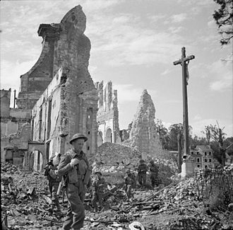 Lisieux - Lisieux during the Second World War