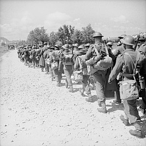 Beauman Division - Image: The British Expeditionary Force (BEF) in France 1939 1940 F4689
