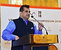 The CEO, NITI Aayog, Shri Amitabh Kant addressing at the Venture Capital Symposium with French investors, organised by the NITI Aayog, in New Delhi on May 18, 2018.JPG