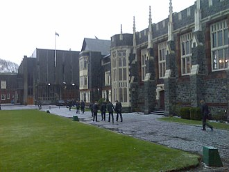 Christ's College, Christchurch -  The Christ's College Quad and Dining Hall