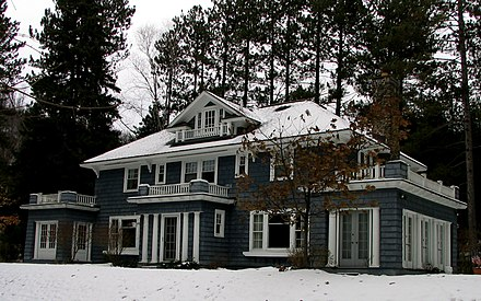 "Mathewson's private ""cure cottage"" in Saranac Lake The Christy Mathewson Cottage.jpg"