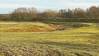 Devils Quoits Neolithic henge monument; stone circle