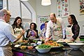 The Duke and Duchess Cambridge at Commonwealth Big Lunch on 22 March 2018 - 130.jpg