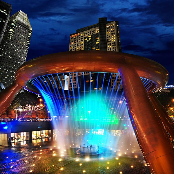 Interesting Places Wikipedia: File:The Fountain Of Wealth At Suntec City.jpg