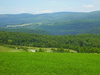 Laurel Hill (Pennsylvania) - Laurel Hill from Kentuck Knob, Pennsylvania