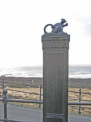 Monkey hanger - The Hartlepool Monkey monument on Hartlepool Headland.