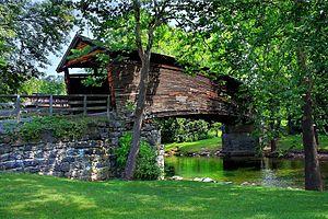 Humpback Covered Bridge - Image: The Humpback Bridge