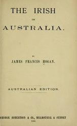 James Francis Hogan: The Irish in Australia