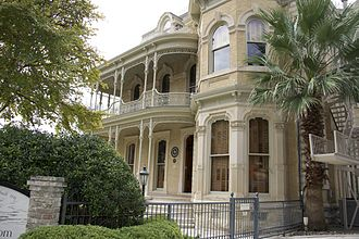 Bremond Block Historic District (Austin, Texas) - The John Bremond House, Austin, TX
