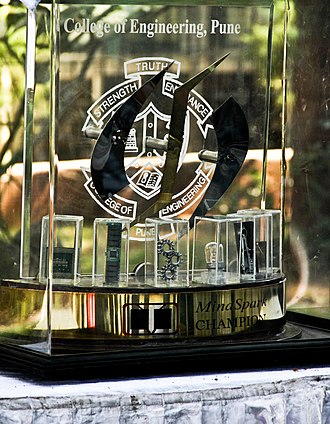 College of Engineering, Pune - The Mind-Spark trophy