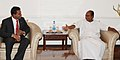 The Minister of Defence & National Security of the Republic of Maldives, Mr. Mohamed Nazim calling on the Defence Minister, Shri A. K. Antony, in New Delhi on March 30, 2012.jpg