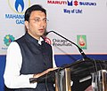 """The Minister of State for Petroleum & Natural Gas, Shri Jitin Prasada addressing at the inauguration of the """"South Asia's Natural Gas for Vehicles Conference & Exhibition"""", in Mumbai on November 24, 2010.jpg"""