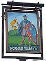 The Norman Warrior sign - geograph.org.uk - 572402.jpg
