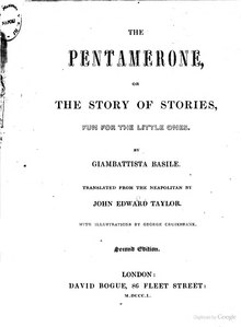 The Pentamerone, or The Story of Stories.djvu