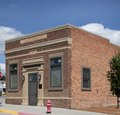 The Peoples Bank of Moorcroft, Wyoming, completed this building in 1919, but the bank itself stayed in business less than a decade; it was owned by a parent bank in Cheyenne that failed, causing its LCCN2015634191.tif