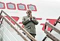 The Prime Minister, Shri Narendra Modi arrives at Nay Pyi Taw International Airport, Myanmar on September 05, 2017.jpg